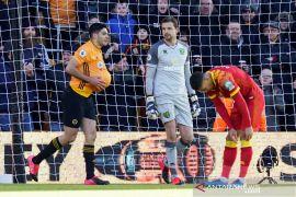 Liga Inggris: Wolverhampton hancurkan Norwich City 3-0