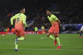 Gabriel Jesus bawa Manchester City menang di kandang Leicester