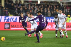 Liga Italia, Milan gagal bawa pulang tiga poin dari markas Fiorentina