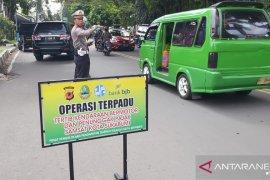 Ratusan pengendara pelanggar lalu lintas di Sukabumi terjaring razia KTMDU