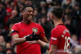 Klasemen Liga Inggris setelah Manchester  United tempel zona Champions