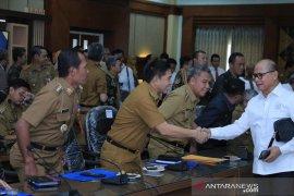Bertemu Tim Banggar DPR RI, inilah harapan para pimpinan daerah di Kalsel