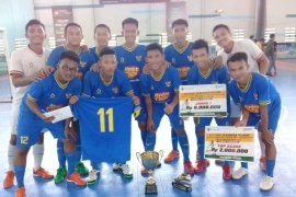 SMAN 2 Banjarmasin champion of 2020 S Kalimantan students futsal