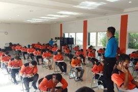 Basarnas Ternate gelar uji kompetensi  personel potensi SAR di Malut