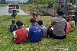 Polisi Aceh Utara sulap motor dinas jadi perpustakaan keliling