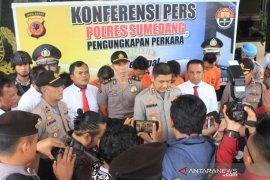 Polisi tangkap komplotan pencuri yang resahkan masyarakat di Sumedang