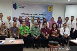 Inspektorat Pemkab HST dilatih pembuatan kertas kerja audit dan Overview