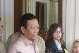 Mahfud: Presiden Jokowi tidak pernah bicara perombakan kabinet