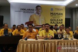 Maman Abdurrahman deklarasi maju sebagai calon Ketua DPD Golkar Kalbar