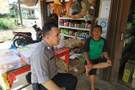 Personel Polsek Puding Besar gelar patroli dialogis