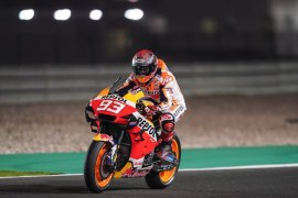Marquez ungguli Rins, Rossi di sesi pertama tes  MotoGP di Jerez