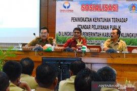 Ombudsman Bali sosialisasikan peningkatan pelayanan publik di Klungkung