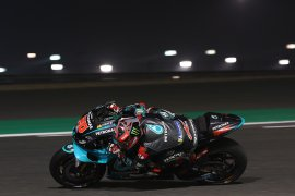 MotoGP, Quartararo bawa Yamaha puncaki hari kedua tes pramusim di Qatar