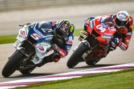 Zarco semakin klop dengan Ducati