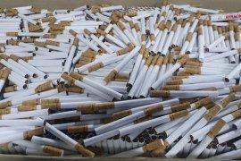 Bea Cukai gerebek gudang penyimpanan rokok ilegal di Malang