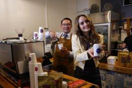 Ridwan Kamil resmikan Jabarano cafe di Australia yang pertama jual kopi Jabar