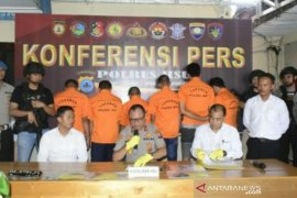 Kasus curanmor marak, Polres gelar press conference