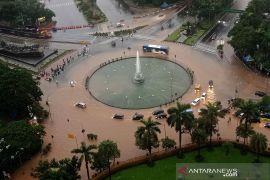 BMKG mencatat sejumlah wilayah di Jakarta hujan ekstrem