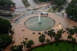 Jakarta pusat terendam