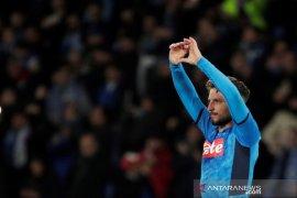 Dries Martens minta maaf soal catatan golnya lampaui gol Maradona di Napoli