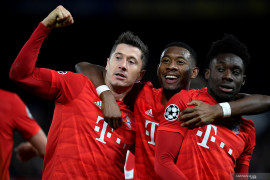 Bayern Munich hantam tuan rumah Chelsea 3-0