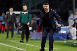 Gattuso sebut Napoli tidak sabar hadapi Barcelona di Camp Nou