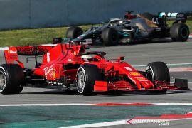 Ferrari harus desain ulang mobil balap F1