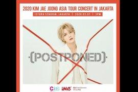 Konser Kim Jae-joong, penyanyi idola K-pop, di Jakarta ditunda