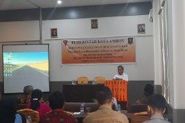 BPBD Kota Ambon latih KMSB manajemen mitigasi bencana