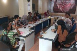 Kunjungan BPJS Kesehatan ke Antara Jatim