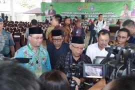 Wapres Ma'ruf Amin minta Kemenkes optimalkan jambanisasi di Bangka Belitung