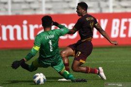 Osas Saha menegaskan masih bersama PSM Makassar