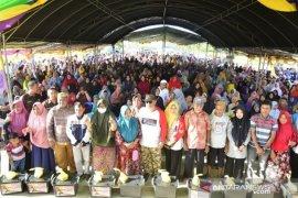 Peserta Jelajah Wisata Sulawesi 2020 ikut Bakti Sosial NKRI Peduli