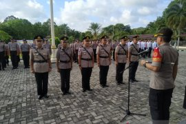 Kapolres Bangka perintahkan personel monitoring pengamanan wapres Ma'ruf Amin