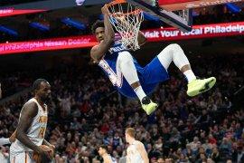 NBA denda Joel Embiid 25 ribu dolar karena umpatan kotor dan cabul