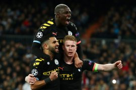 City mencatatkan kemenangan penting 2-1 di kandang Madrid