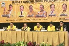 DPP Golkar rapat konsolidasi persiapan Pilkada 2020