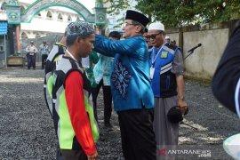 Bupati HSS dan Guru Kapuh lepas 2.551 relawan Haul Guru Sekumpul