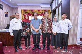 Pemkot Padangsidimpuan jalin kerja sama dengan Garuda Indonesia
