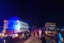 Tabrakan truk di Wampu Langkat, satu luka berat