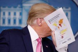 Presiden Amerika Trump mengaku sehat dan tak miliki gejala COVID-19