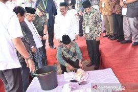 Wapres letakkan batu pertama pembangunan Kantor MUI Bangka Belitung
