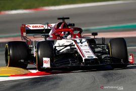 Sembuh dari COVID-19, Raikkonen kembali membalap di GP Rusia