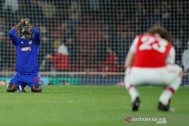 Hasil 32 besar Liga Europa, Arsenal terhenti dramatis oleh Olympiakos