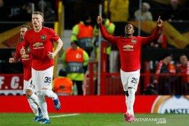 Manchester United menaklukkan 10 pemain Club Brugge dengan skor 5-0