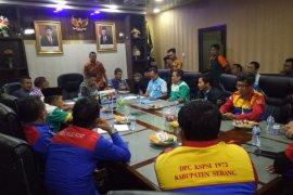 Soal omnibus law, buruh Banten mengadu ke DPRD