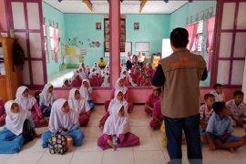 BPBD Gorontalo Utara simulasi sekolah aman bencana di Kecamatan Kepulauan