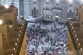 Masjidil Haram sambut kelompok jamaah umrah untuk pertama kalinya di tengah pandemi COVID-19