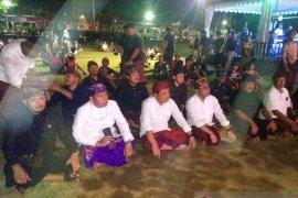 Wali Kota dan wakilnya nikmati hiburan HUT Denpasar ke-232