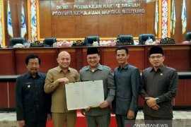 DPRD Bangka Belitung sahkan Raperda Zonasi Pesisir dan Pulau-Pulau Kecil